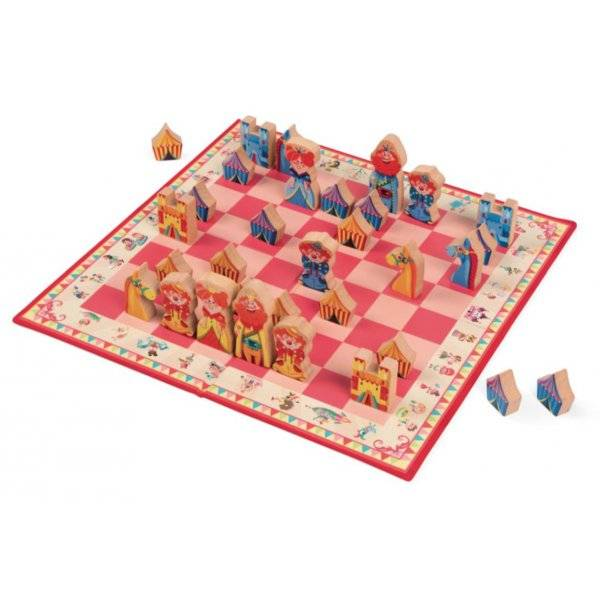 Janod Janod 2745 Carrousel Chess Game