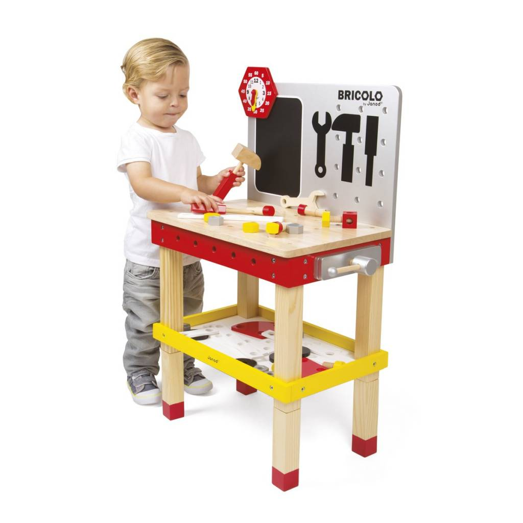 Janod Janod 6492 Redmaster DIY Giant Magnetic Workbench