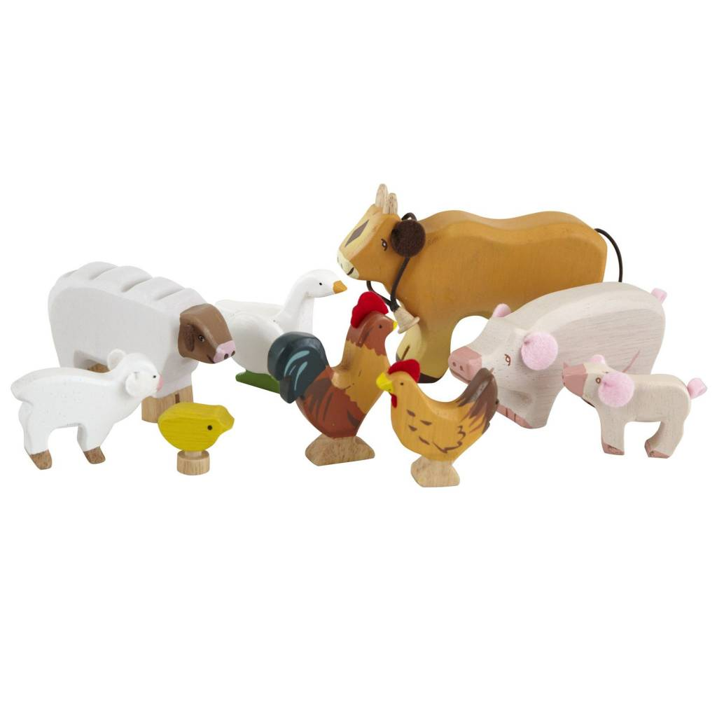 Le Toy Van Le Toy Van TV890 Sunny Farm Animals