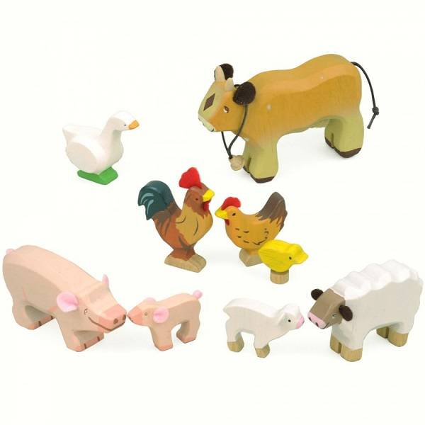 Le Toy Van Le Toy Van TV890 Ensemble animaux de la Ferme