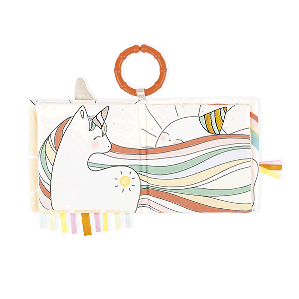 Kaloo Kaloo Livre d'éveil Licorne