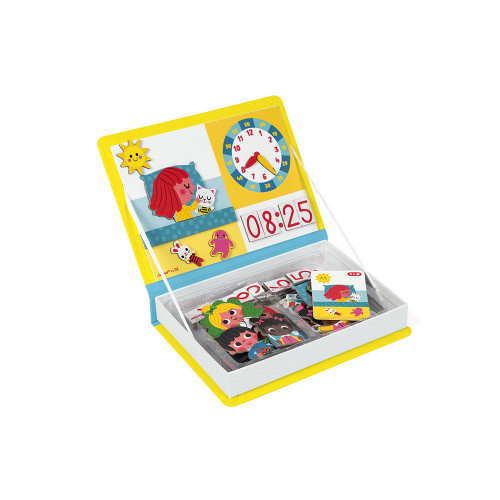 Janod JANOD LEARN TO TELL THE TIME MAGNETI'BOOK