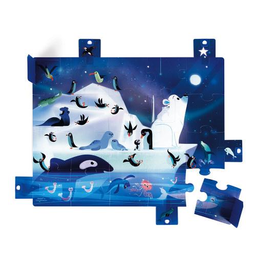 Janod Janod SURPRISE PUZZLE UNDER THE STARS 20 PIECES