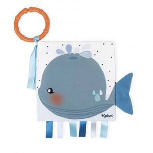 Kaloo Kaloo livre d'éveil Baleine