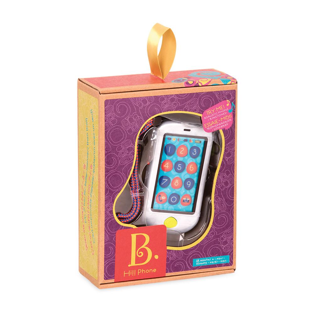 Battat B.Lively - Touch Screen Hi!! Phone, Metallic Silver