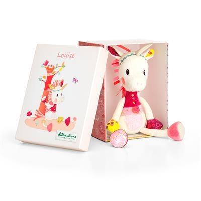 Lilliputiens Lilliputiens Louise cuddly unicorn box