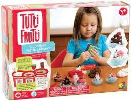 Tutti Frutti Cup cake Tutti frutti