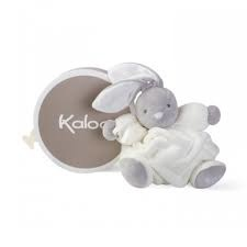 Kaloo Kaloo Plume Soft Toy - Cream Chubby Rabbit (Medium)