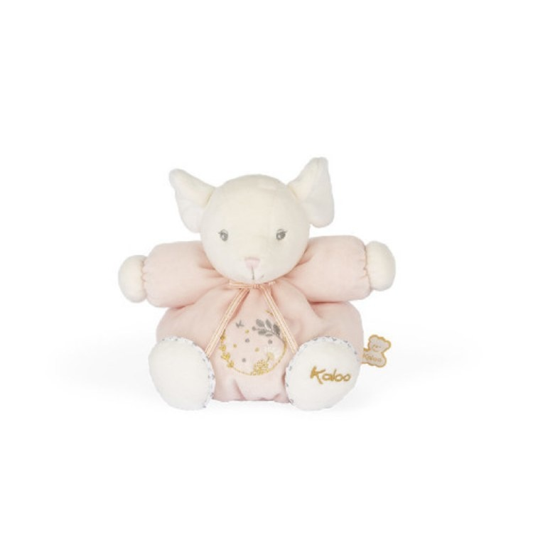 Kaloo CHUBBY MOUSE PINK - SMALL