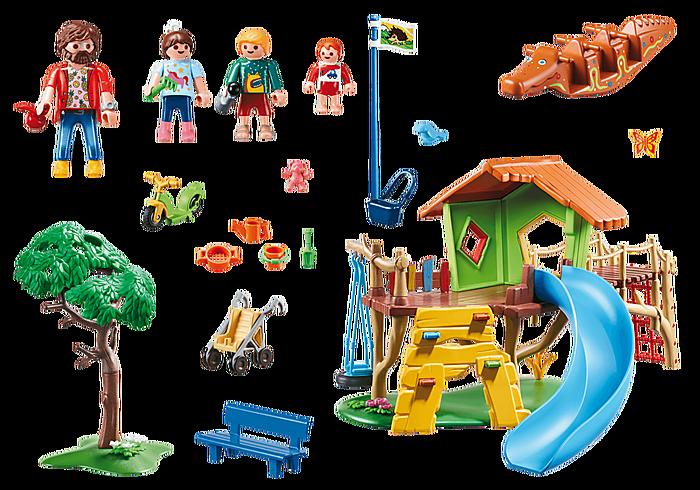 Playmobil Playmobil 70281 Parc de jeux et enfants