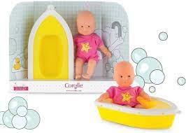 Corolle corolle mini poupée bain