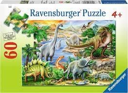 Ravensburger Ravensburger 09621 - Pz - La vie prehistorique 60pcs