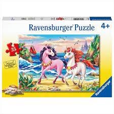 Ravensburger RAVENSBURGER PUZZLE 35 PCS BEACH UNICORNS