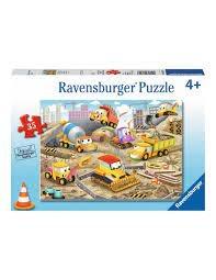 Ravensburger RAVENSBURGER PUZZLE FLOOR PUZZLE 24PC CONSTRUCTION FUN