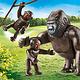 Playmobil Playmobil gorillas with babies 70360