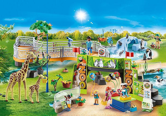 Playmobil PLAYMOBIL LARGE CITY ZOO 70341