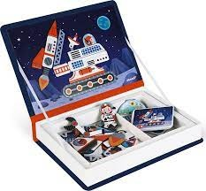 Janod SPACE MAGNETI'BOOK , 52 MAGNET