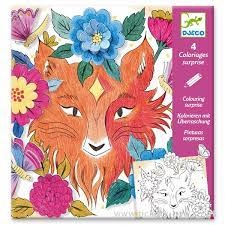 Djeco Forest Friends Colouring Surprises by Djeco