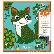 Djeco Country Creatures Scratch Cards by Djeco