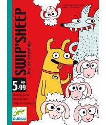 Djeco Swip'Sheep Card Game by Djeco