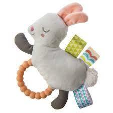 mary meyer Mary Meyer Taggies Shake & Teethe - Bunny