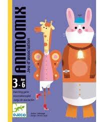 Djeco Animomix Card Game by Djeco
