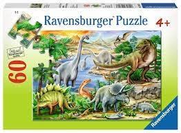 Ravensburger Ravensburger - Prehistoric Life Puzzle 60 pieces