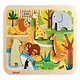Janod CHUNKY PUZZLE ZOO 7 PIECES (WOOD) J07022