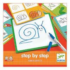 Djeco Eduludo / Step by step Animals & co