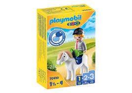 Playmobil Playmobil 123 Boy With Pony
