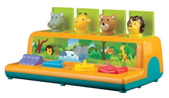 Little Hero Little Hero : Pop-Up Activity Center Animals