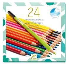 Djeco Djeco 09754 24 watercolour pencils