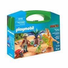 Playmobil Playmobil 70108 Valise explorateur et dino