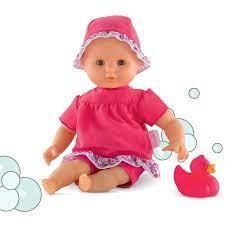 Corolle Poupée 30 cm bébé bain Coralie