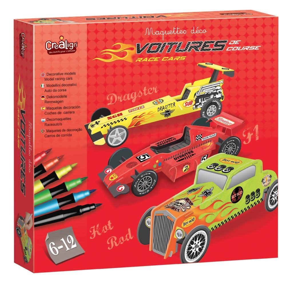 crealign Deco Models - Race Cars