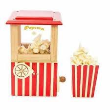 Le Toy Van Le Toy Van Honeybake Wooden Toy Popcorn Machine
