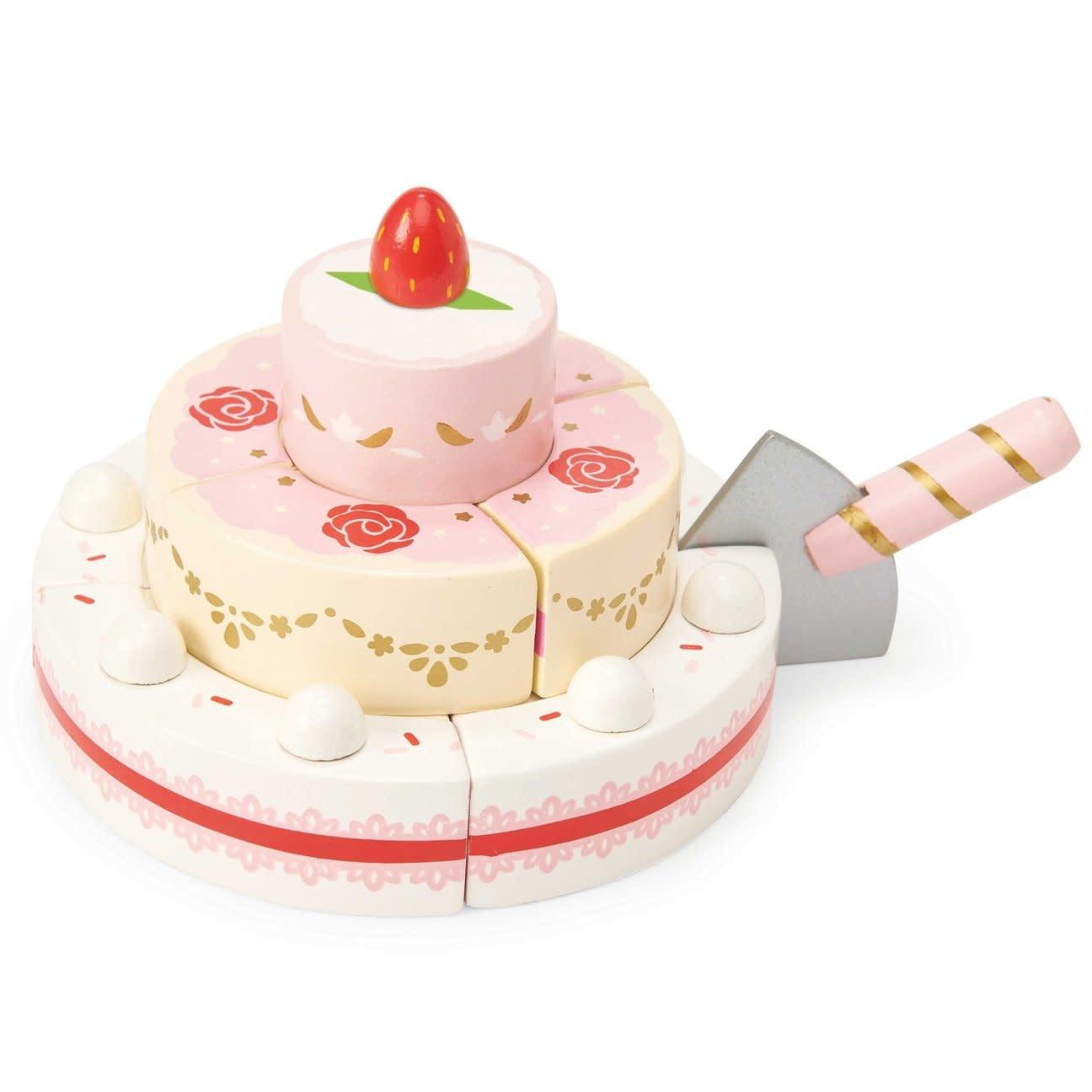 Le Toy Van Toyvan Gateau de mariage à la fraise