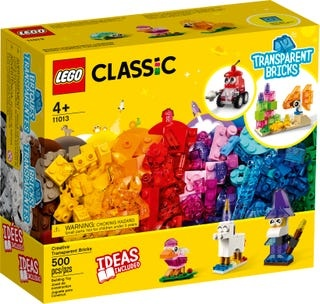 Creative Transparent Bricks11013