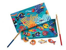 Djeco Magnetic Fishing Graphic by Djeco