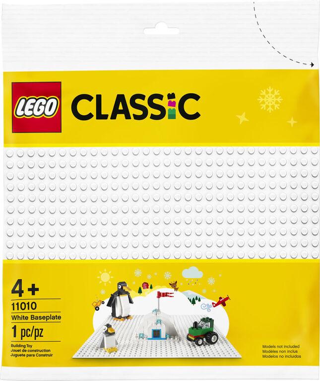 11010LEGO CLASSIC WHITE BASEPLATE
