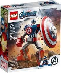 l'armure robot de Capitaine América