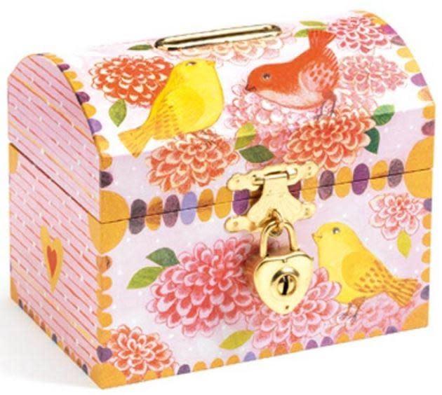 little big room Birds Money Box by Djeco