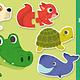 Djeco Animals Puzzle Duo by Djeco
