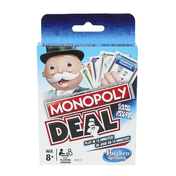Hasbro Card Game Monopoly Deal