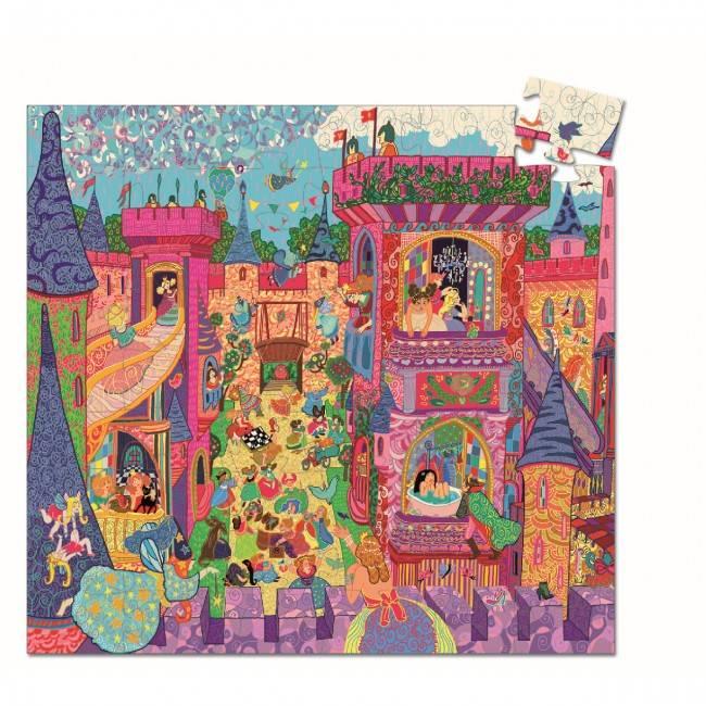 Djeco Djeco 07246 Pz - The fairy castle - 54 pieces children's jigsaw puzzle