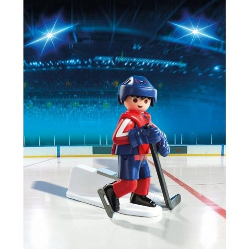 Playmobil Playmobil 9035 Joueur des Capitals de Washington LNH