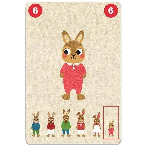 Djeco Djeco 05103 Familou Cooperative game of happy families