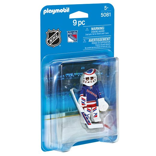 Playmobil Playmobil 5081 NHL New York Rangers Goalie