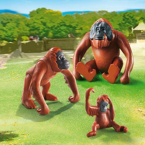 Playmobil Playmobil 6648 Orangutan Family