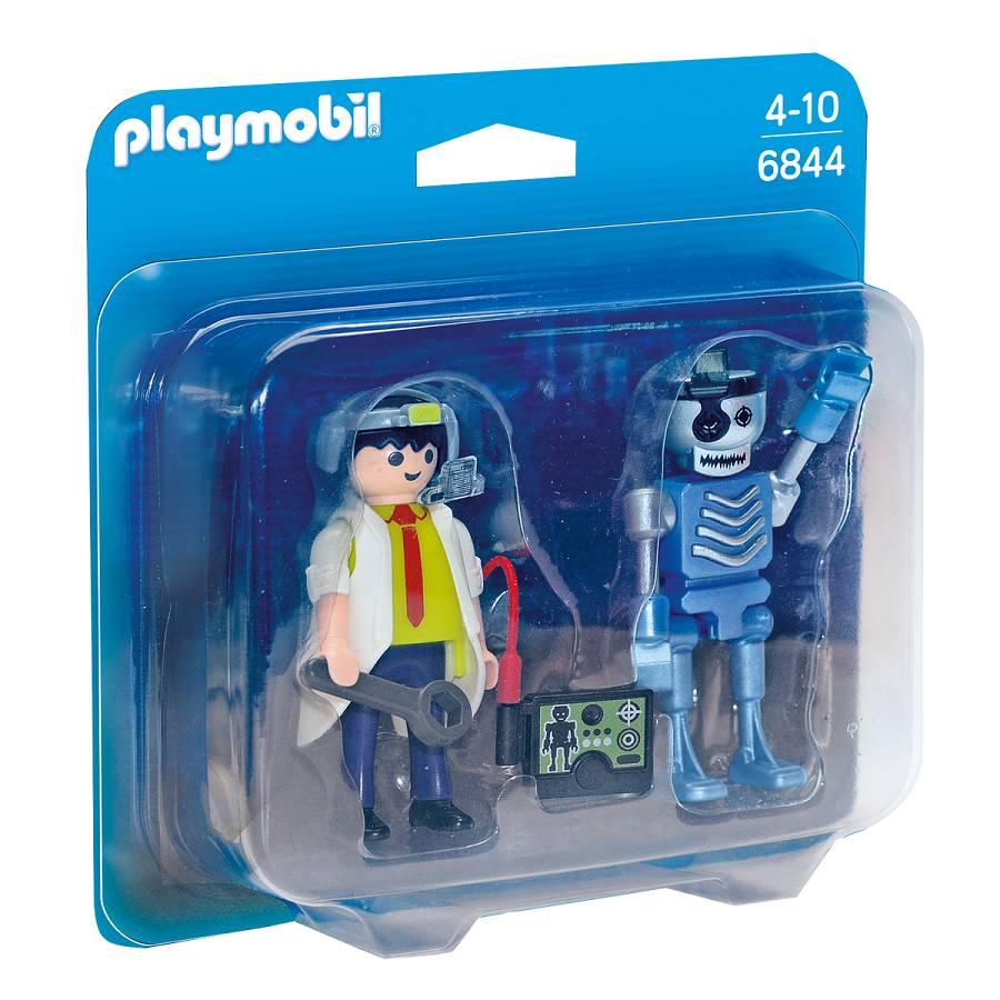 Playmobil Playmobil 6844 Inventeur et robot